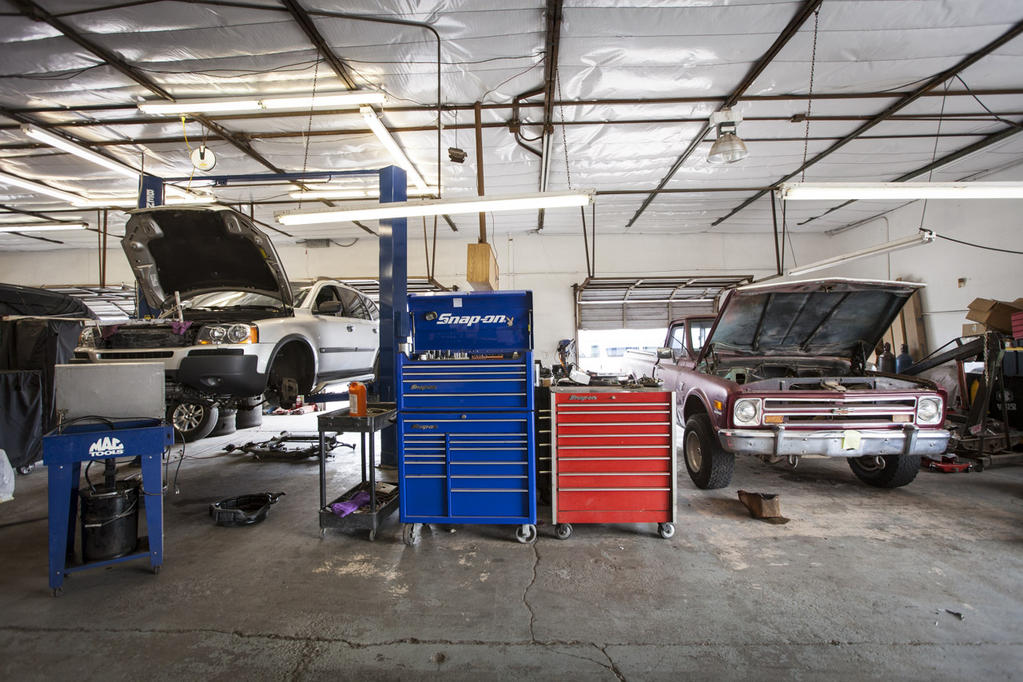 Cars and toolbox
