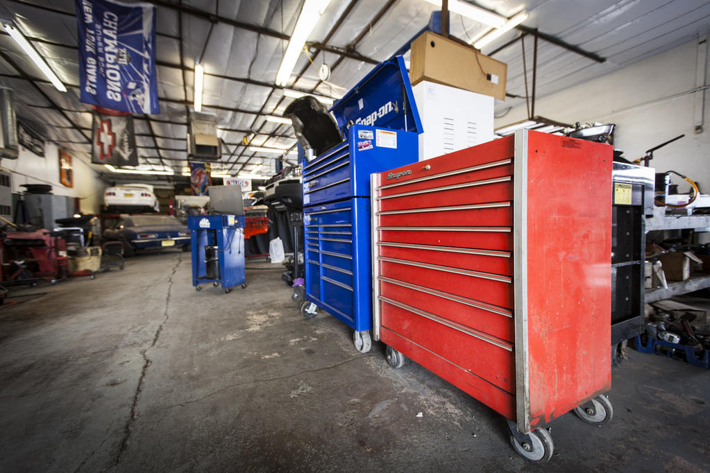 Toolbox and Shop