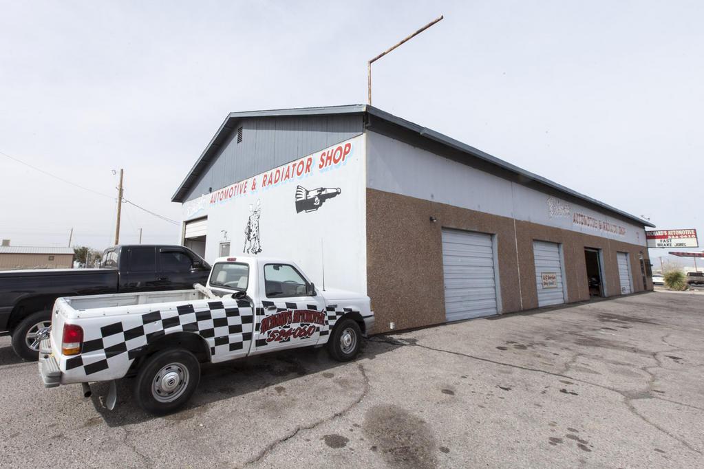 Trucks and Richards Automotive Shop